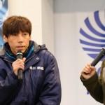 優勝戦出場選手公開インタビュー 1号艇:丸岡 正典 選手 (1)