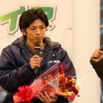 優勝戦出場選手公開インタビュー 3号艇:澤 大介 選手 (1)